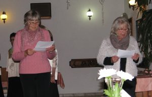 Nagovor gostiteljic - skupin Lipe in Harmonije